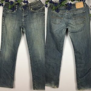EXPRESS SARULA Boot Cut Jeans Size 6